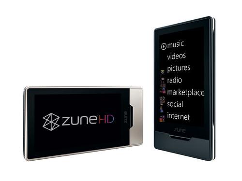 Microsoft Zune HD Platinum
