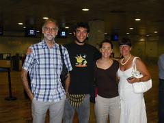 Jordi (mi padre), Anaïs (mi hermana), Pepa (mi madre) y yo