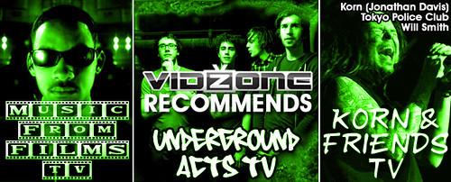 VidZone Recommends Underground Acts TV
