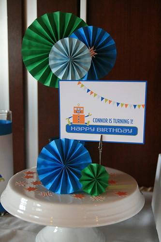 Connor's 1st Birthday