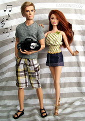 TAGGED: Top 10 (fashionisto2k) Tags: fashion hair shoes dolls tag ken barbie drew tagged redhead clothes lara harleydavidson mattel fever fashionfever barbiecollector rebodied pinklabel