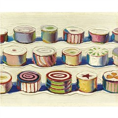 Wayne Thiebaud, Candies, 1965-55, sold for $2,770,500 at Sotheby's May 9 2011