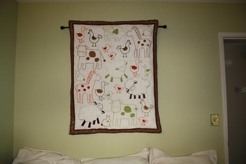 Comforter Wall Hanging