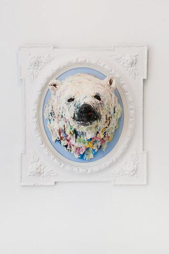 Cabeza de oso polar