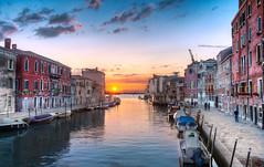The Setting Sun – (Venice, Italy)