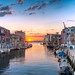 The Setting Sun – (Venice, Italy) by blame_the_monkey