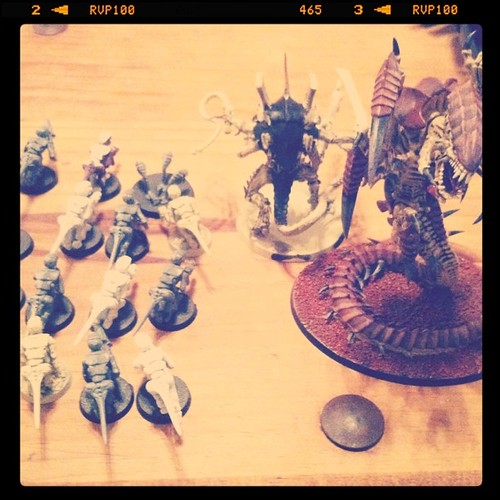 Project 365 176/365: Things on my coffee table #Warhammer figures.