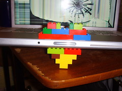 Lego Macbook Pro (Abscond) Tags: apple heart lego macbookpro
