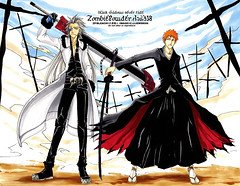 Bleach_X_ZP___Black_Shadows_by_nyanko_chan (lordismyrock21 - Alex - PFCSparkster) Tags: anime chad bleach rukia sado ichigo kon inoue kenpachi renji toshiro shinigami rangiku zanpaktou gotei