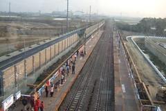 南科臨時站(台灣燈會2008)月台