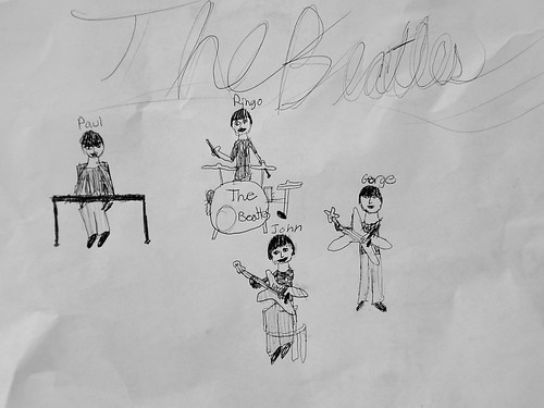 Beatles by M (she's 10)