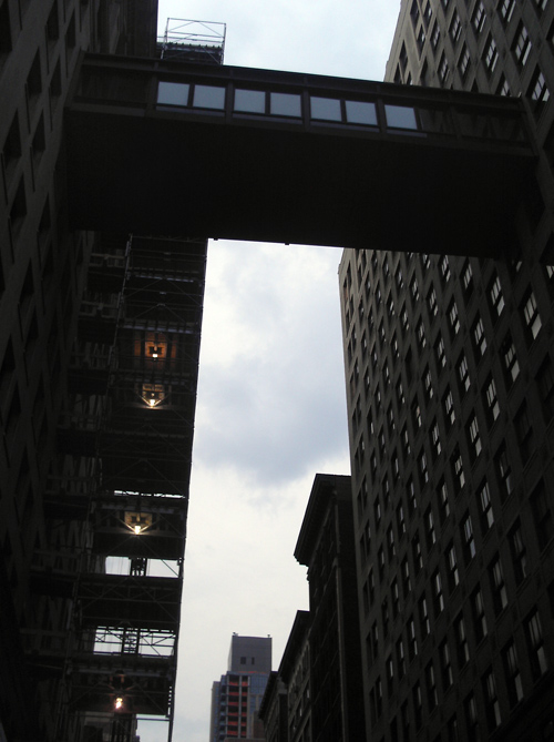 sky bridge, 24th Street, Manhattan, NYC
