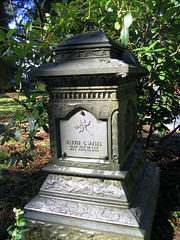 pioneer cemetery - centralia, wa (DeadManTalking) Tags: cemetery graveyard washington centralia lewiscounty gravemarker pioneercemetery whitebronze deadmantalking merwinmoses