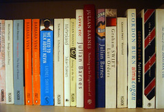 Nothing to be Frightened of has pride of place on my shelf (Annie Mole) Tags: book books writers writer author authors julianbarnes metroland bookshelfmeme englandengland barbaravine loveetc helenfielding alanwarner englishauthors englishwriters grahamswift gordonburn timbinding contemporaryenlishwriters contemporaryenglishauthors nothingtobefrightenedof jonathoncoe