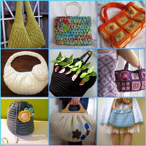 How To Make Crochet Handbags : YouCraft.org ... the blog: Crochet bags