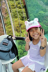 Darice in the cable car