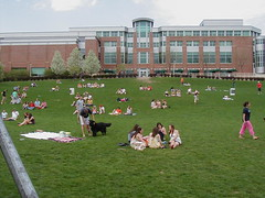 The Hub Lawn @ Movin' On 2008