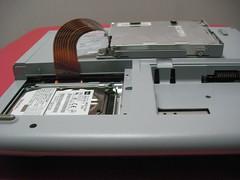NE7/850Hハードディスク交換