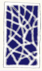 Grey and blue network from woodblock 2