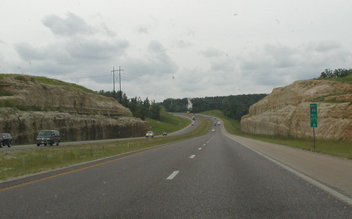 I-44 in Central Missouri
