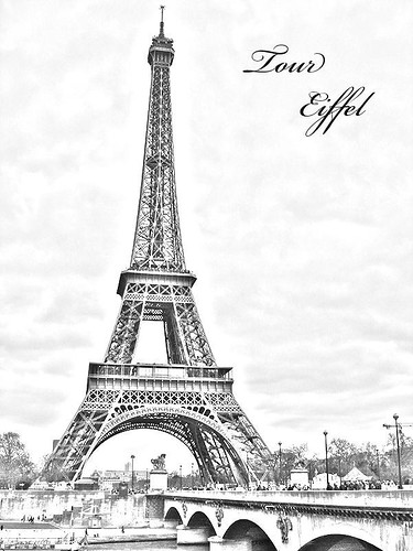 eiffel tower sketch. Tour Eiffel sketch
