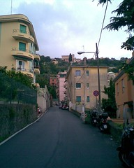 Photo of a Genoa street