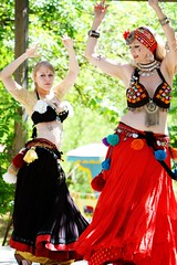 Mother and Daughter (Mr. Photo) Tags: bellydancer renaissancefair canon70200f28l canon7020028is canon40d oklahomarenaissancefestival castlemuskogee