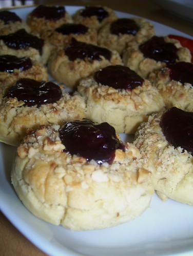 Visne marmelatli kurabiye