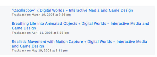 DigitalWorlds trackbacks