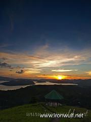 Mt Tapyas Calamianes Islands Sunset