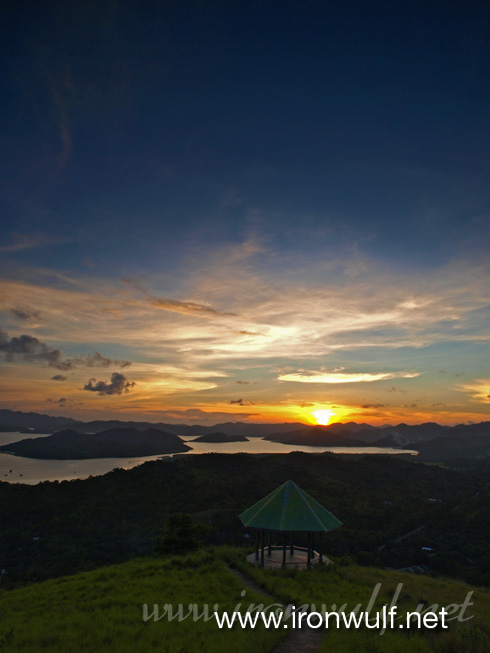 Mt Tapyas Calamianes Islands Sunset