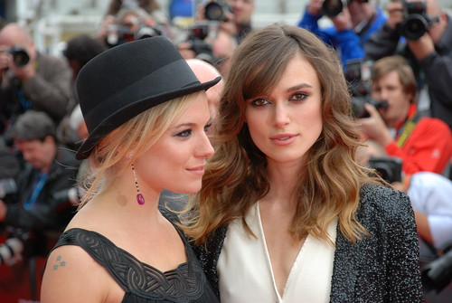 Sienna Miller & Keira Knightley - The Edge Of Love red carpet