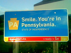 Pennsylvania Sign