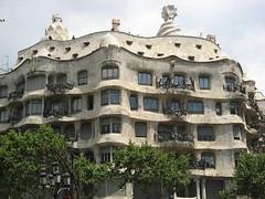 La Pedrera (didiridi) Tags: barcelona espaa gaudi casamil lapedrera wakacje antoniogaudi hiszpania