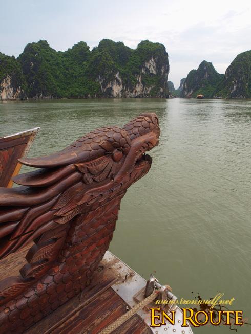 The Dragon at Ha Long Bay