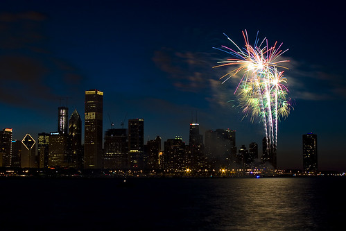 July 4th Fireworks (Chicago)