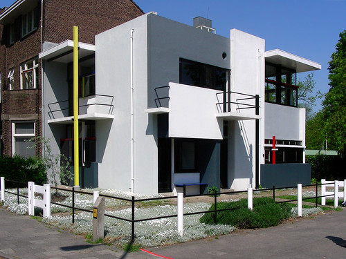 Rietveld House in Utrecht,modern,house,design
