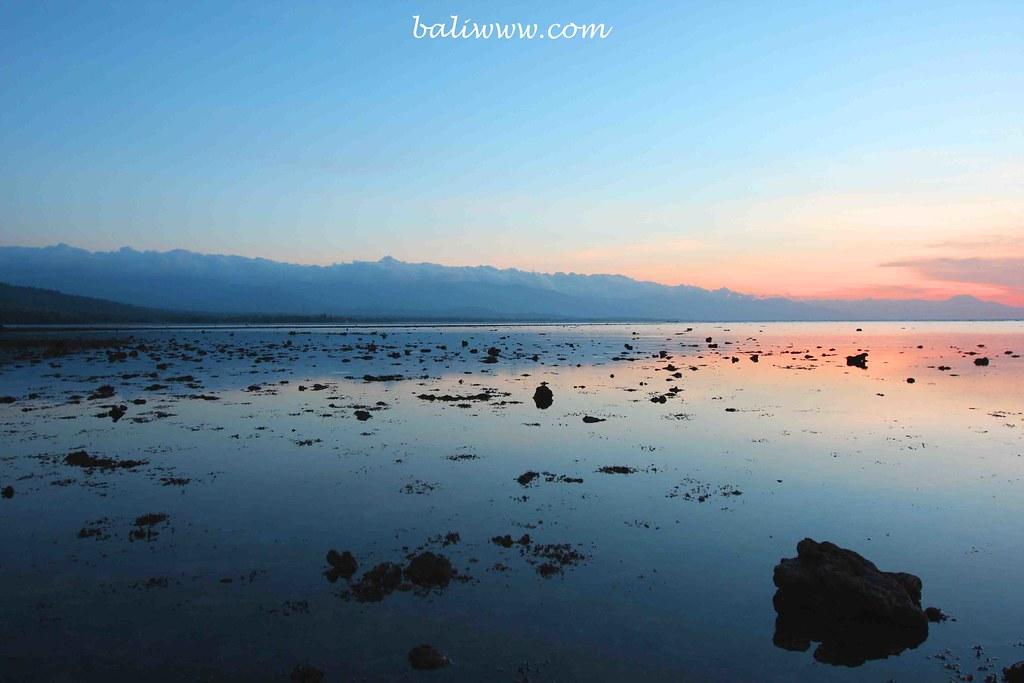 Sunset at Kaliasem, Lovina