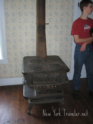 Cast Iron Stove in Tavern