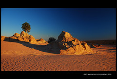 Lake Mungo Sunset (heritagefutures) Tags: world park trip sunset copyright lake heritage desert lakes australia national nsw area noon hr 2008 dirk lunette allrightsreserved formations csu mungo willandra spennemann lakesworld heritagefutures dirkhrspennemann csudeserttrip2008 willandralakesworldheritageareawillandra csudt2 copyrightdirkhrspennemann ausphoto