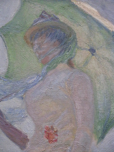 Musee D Orsay Claude Monet Woman With An Umbrella Turned To The