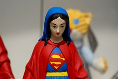 (`David) Tags: sculpture paris comic maria mary skulptur icon superman hero superhero chicana virgen chicano virgendeguadalupe ourladyofguadalupe religiousart ourlady superwoman ikone superheld nuestraseora