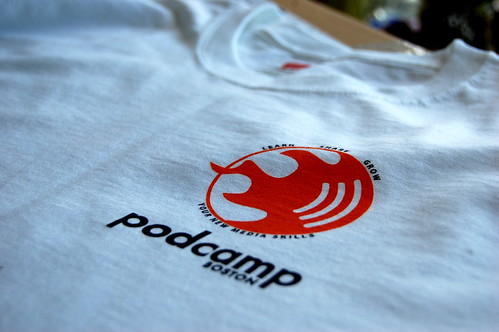 PodCamp Boston 3 Shirts - Front
