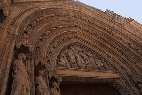 Portada de los Apóstoles Catedral de Valencia