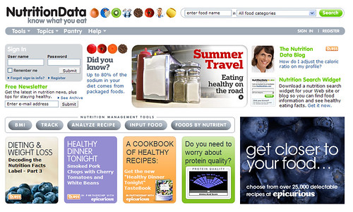 Nutrition Data.com