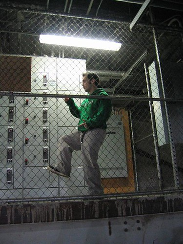Busting a move in the cage