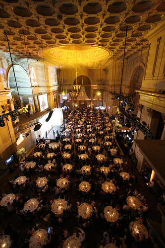 Cipriani Wall Street from the 3rd story balcony