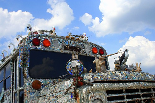 American Visionary Arts Museum Art Bus by cyanocorax.