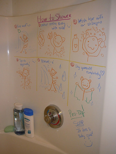 How to: Shower