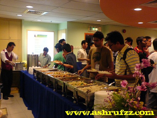 BarCamp Malaysia Lunch Time
